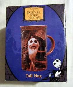 TIM BURTONS THE NIGHTMARE BEFORE CHRISTMAS TALL COFFEE MUG