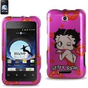 BETTY BOOP Design Hard Shell Snap On Protector Case Cover