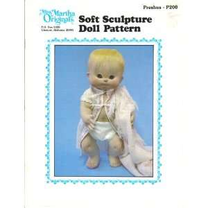 Miss Martha Originals Soft Sculpture Doll Pattern Preshus