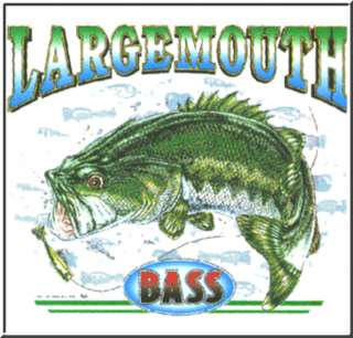 Largemouth Bass Fish Fishing Fisherman T Shirts KIDS