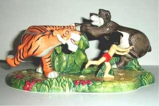 Doulton Disney Jungle Book Run Mowgli Tiger Bear Limited Edition New