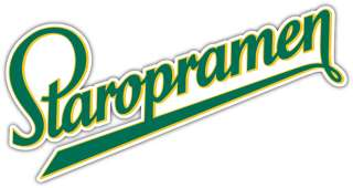 Staropramen Beer Alcohol Car Bumper Sticker Decal 6X3