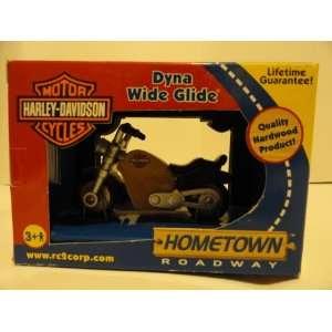 Harley Davidson Dyna Wide Glide Little Dreams Wooden