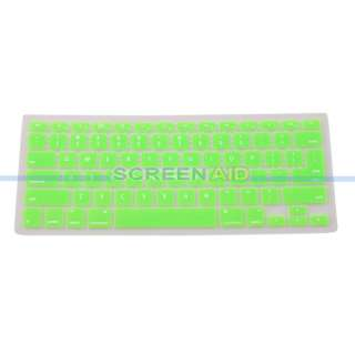 Keyboard Protector Cover Skin for Apple MacBook Laptop Green