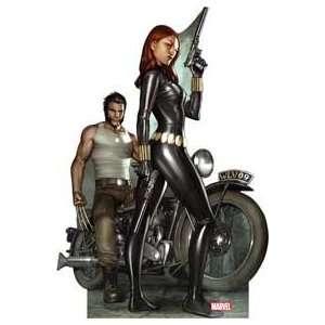 Marvel Woverine & Black Widow Life Size Cardboard Standee