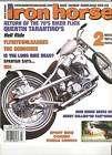2007 Jun Jul Iron Horse Magazine Harley chopper custom