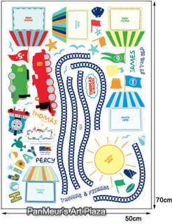 THOMAS & FRIENDS 5, Mural Removable Wall Sticker KIDS