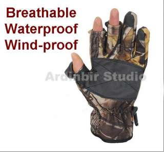 Waterproof Outdoor Sport Camp Gloves Fishing/HUNTING