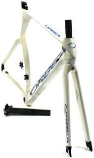 2008 ORBEA ORDU 57cm Tri TT Road Bike Frameset Full Carbon W/ Fork