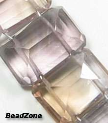 beads of BIG Natural Ametrine Rectangular Step Cut