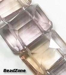 beads of BIG Natural Ametrine Rectangular Step Cut