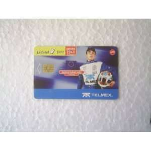 Mexican Phone Card Ladatel Telmex Pablo Sanchez 2007: Everything Else