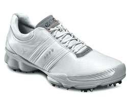 Ecco Mens Biom Hydromax Golf Shoes 131004 54322 White/Concrete