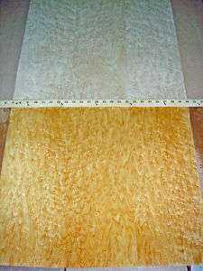 Birdseye Maple wood veneer 24 x 96 with paper backer