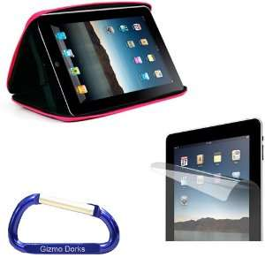 Premium Apple iPad EVA Hard Shell Case (Hot Pink) and Screen Protector