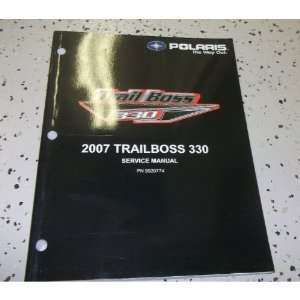2007 Polaris TRAIL BOSS TRAILBOSS 330 Shop Repair Service