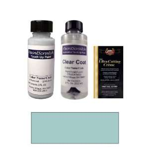 2 Oz. Light Teal Blue Metallic Paint Bottle Kit for 1986