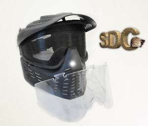 Tactical Black Goggles Paintball Mask