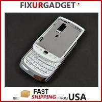 BlackBerry Torch II 9810 White Full Housing Case back OEM USA