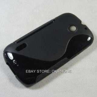 Black New Soft Gel TPU Case Cover Protector For Huawei U8650 Sonic