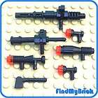 W01 Lego Star Wars Weapons Guns Blasters Multiple Colors