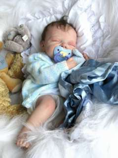 Reborn doll baby boy **Bligh**Adrie stoetes Teddy LIMITED EDITION