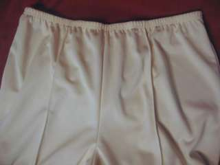 Lenox Square Womans Plus 28 Tall Dress Pants Off White