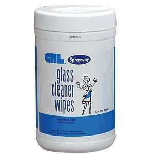 Pre Moistened Glass Cleaner Wipes by CR Laurence Home Improvement