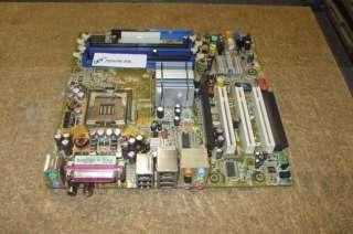 Rev 1.04 Socket 775 Motherboard AS IS Wont POST   Needs Repair