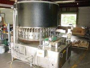 US Bottler Rotary Vacuum Filler Model VC45