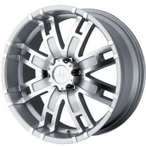 Helo HE835 20x9 Silver Wheel / Rim 8x170 with a 18mm Offset and a 125