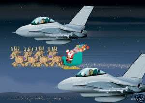 US Air Force Christmas Cards   Boxed Set of 18