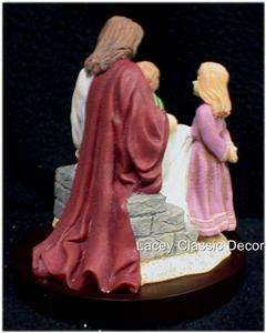Sweet Jesus Loves the little Children Figurine Figure