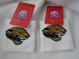 Jaguars Football NFL 2 Wristbands Sweatbands Sport Fan Bands New