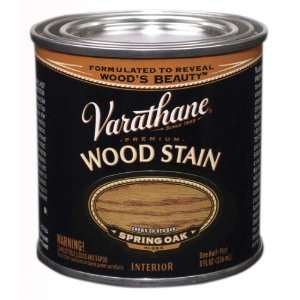 Varathane Oil Base Stain, Half Pint, Spring Oak