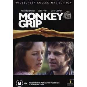 Monkey Grip Noni Hazlehurst All Regions PAL Unrated DVD