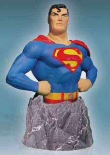 Superman Man of Steel DC Comics Bust Statue