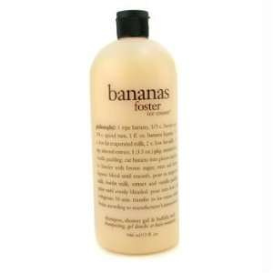 Banana Foster Ice Cream Shampoo Shower Gel & Bubble Bath