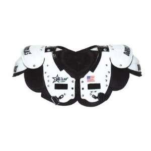 Douglas QB Receiver Shoulder Pads w Rib Protector