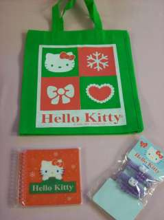 Hello Kitty Goody Gift Bag hair ties notebook frame toy