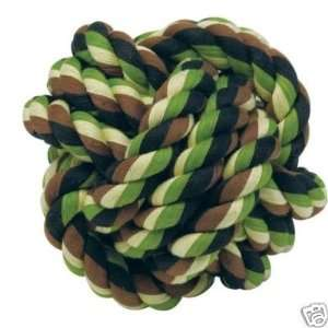 Grriggles Cotton Camo Rope Monkey Knot Dog Toy LARGE: Kitchen & Dining