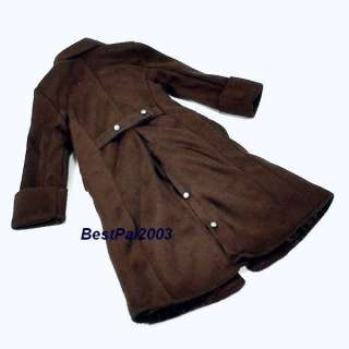 Scale Soldier Story WWII German DAK Trench Coat