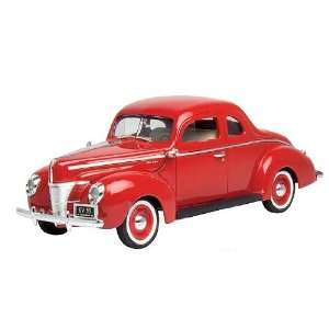 Hard Top (1940, 118, Red) diecast car model american classic design