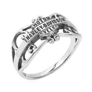Harley Davidson Gipsy filigree Sterling Ring HDR0218 by