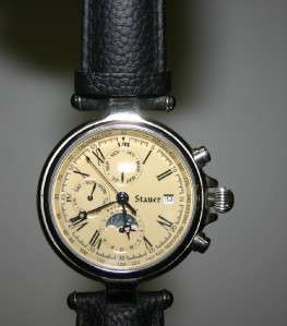 Stauer Automatic Full Function Dial Watch Hardly Worn Excellent