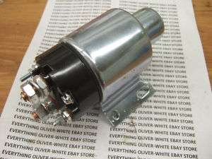 STARTER SOLENOID OLIVER WHITE DIESEL ENGINE TRACTOR