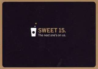 GOLD CARD COUPONS FOR ANY FREE DRINK + 15 FREE STARBUCKS TALL COFFEEs