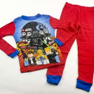STAR WARS LEGO Boys Shirt Pants PAJAMAS 6 8 10 12 Kids Clothing Darth