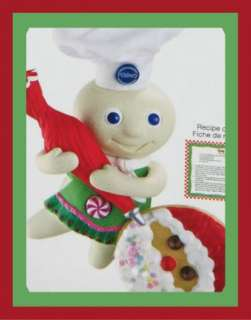 Pillsbury Doughboy Sound Carlton Christmas Heirloom Ornament 2011