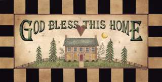 God Bless This Home Linda Spivey Framed Picture Print